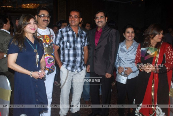 Kumar Sanu, Alka Yagnik and Abhijeet at Sudesh Bhosle Birthday Bash