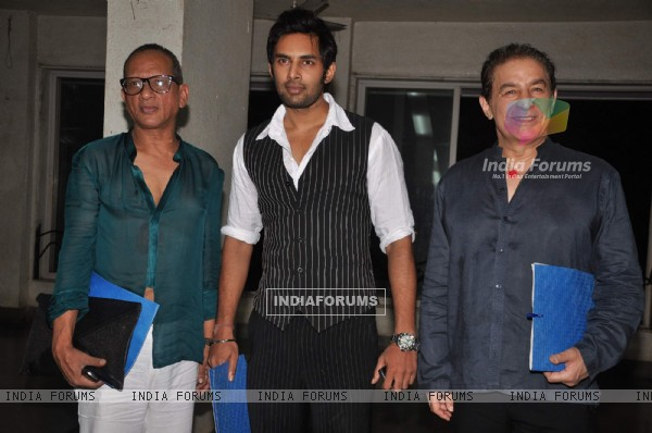 Rahul Raj Singh and Dalip Tahil at INIFD Annual Fashion show at ST Andrews