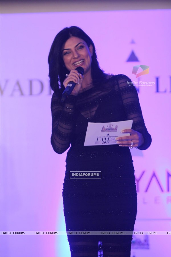 Wadhawan Lifestyle I AM SHE 2011 unveiled by Sushmita Sen at Hotel Trident Bandra, Mumbai