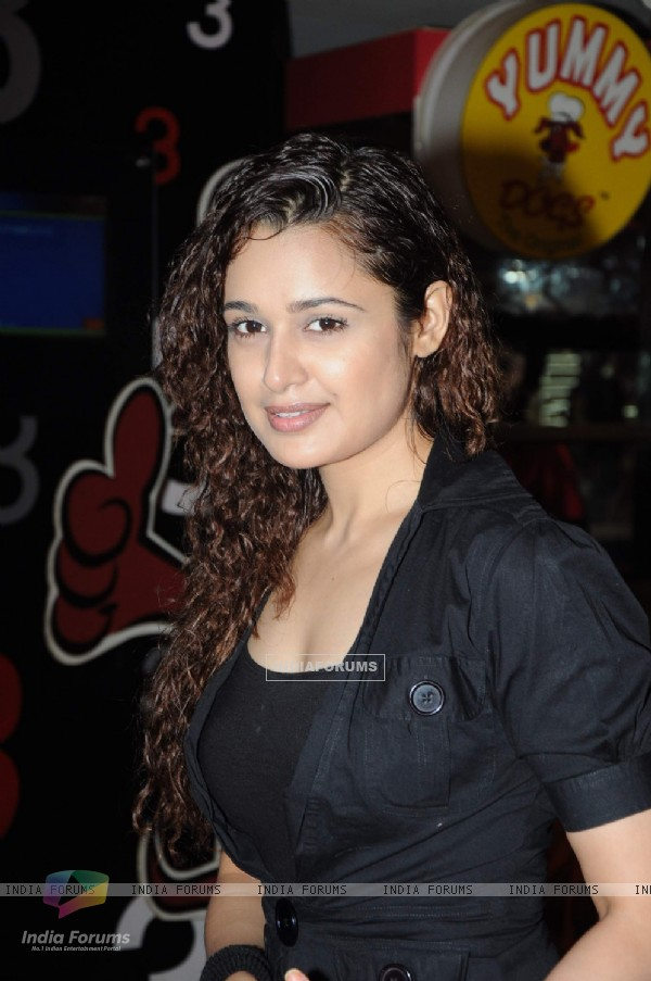 Yuvika Choudhary at animation film 5ters screening at Cinemax