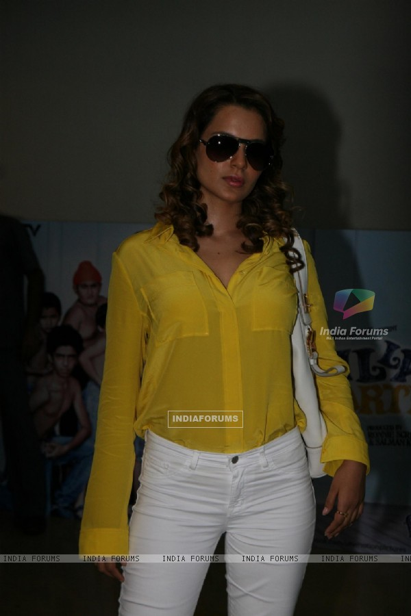 Kangna Ranaut at Premiere of movie 'Chillar Party'