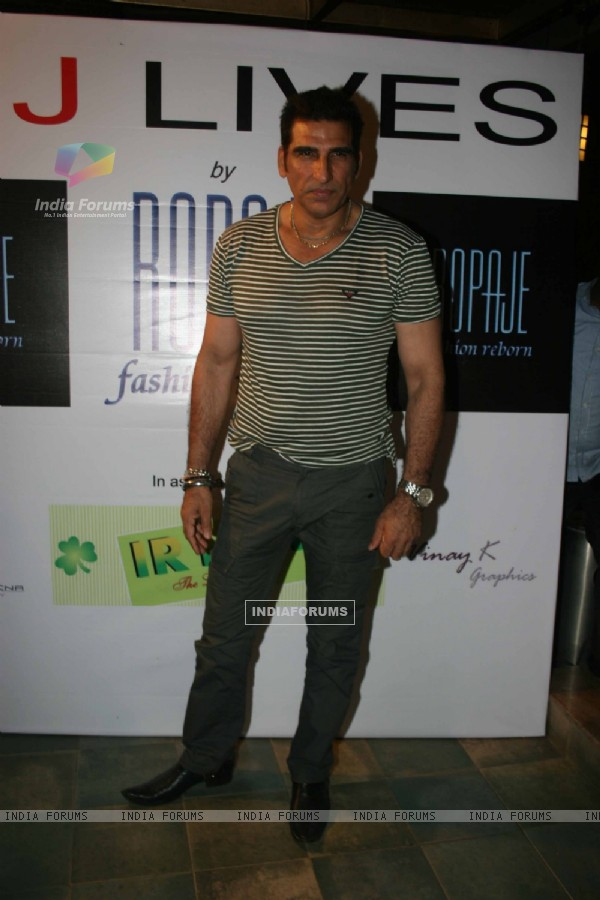 Mukesh Rishi at  'MJ LIVES' party