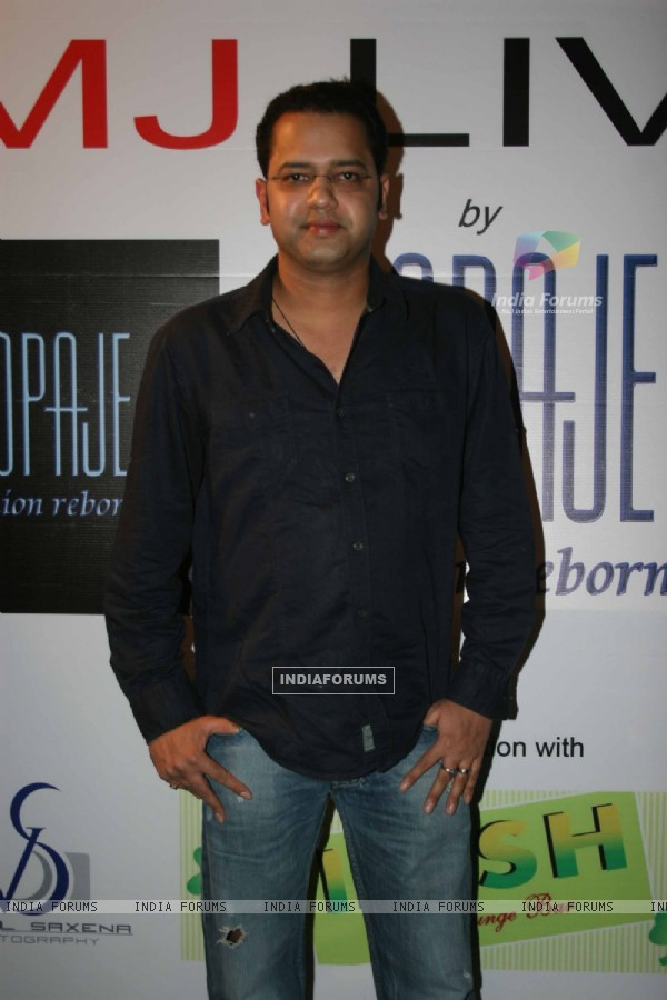 Rahul Mahajan at 'MJ LIVES' party