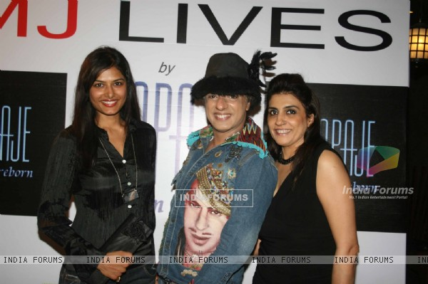 Rohit Verma at 'MJ LIVES' party