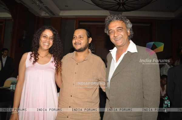 Lucky Ali and Gauri Karnik release new hindi album 'Raasta- Man' at JW Marriot hotel