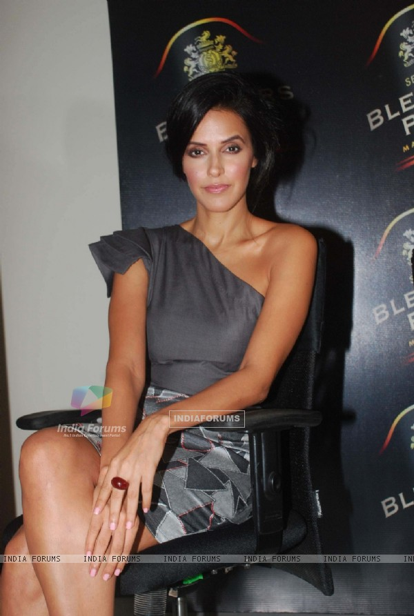 Neha Dhupia at Seagram's Blenders Pride press meet at Four Point, Vashi