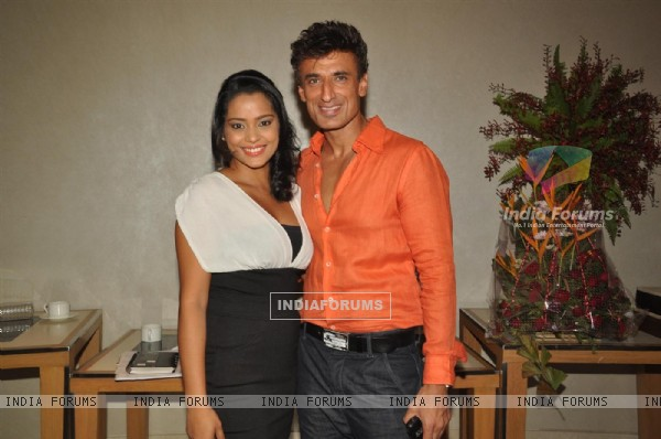 Rahul Dev in I am She 2011 Ed Hardy fashion show at Trident