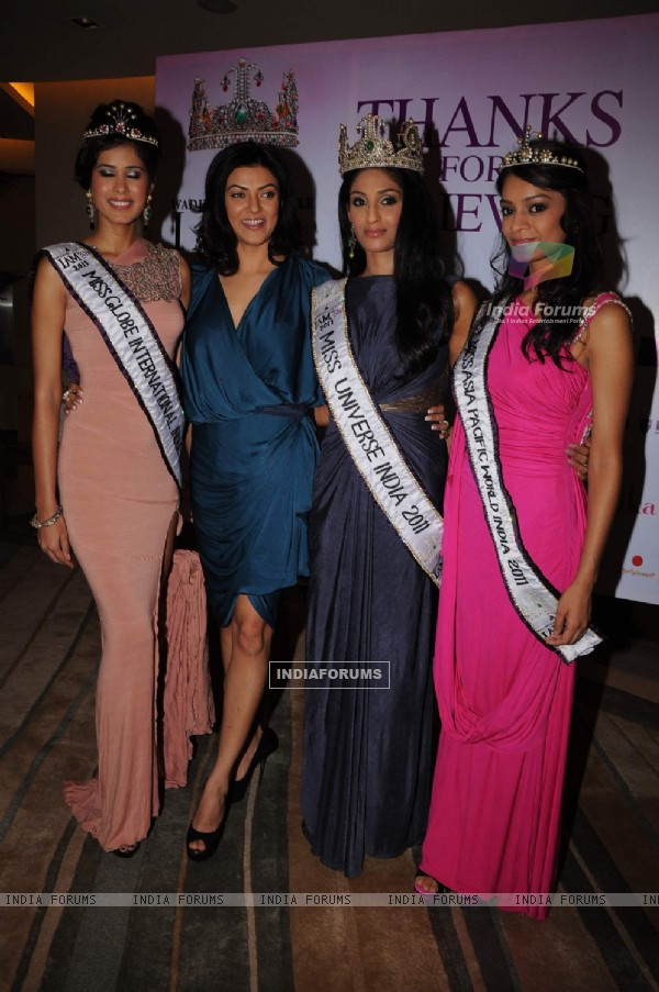 Sushmita reveals her 3 winners of I Am She at Trident