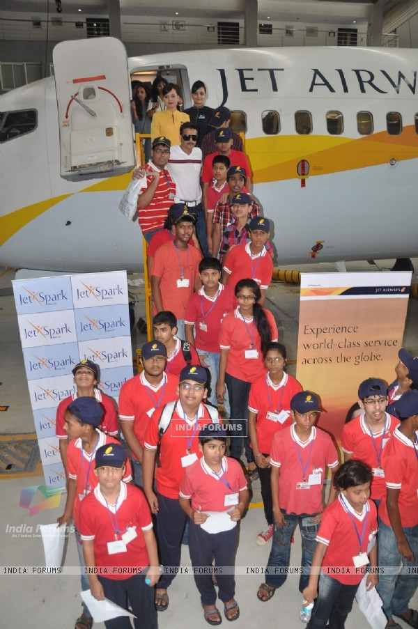 Jimmy Shergill along with Jet Airways take an educational trip for special children of NGO, Santacru