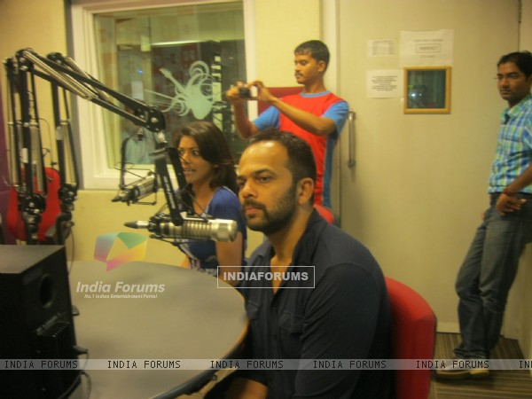 Rohit Shetty visited BIG 92.7 FM studios to promote movie 'Singham'