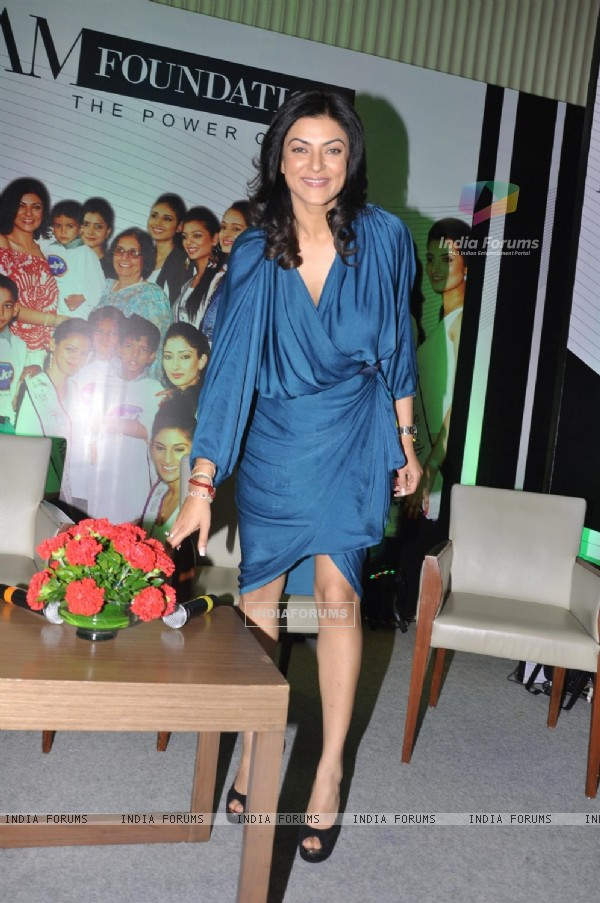 Sushmita Sen reveals her 3 winners at the Wadhawan Lifestyle 'I AM SHE 2011' final in Mumbai