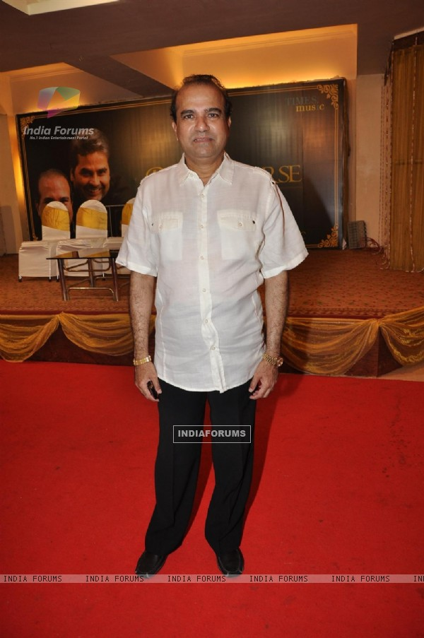 Suresh Wadkar at the launch of Barse Barse album at Santacruz