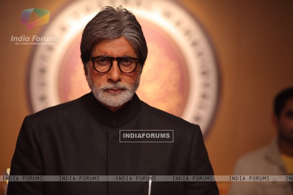 Amitabh Bachchan in the movie Aarakshan