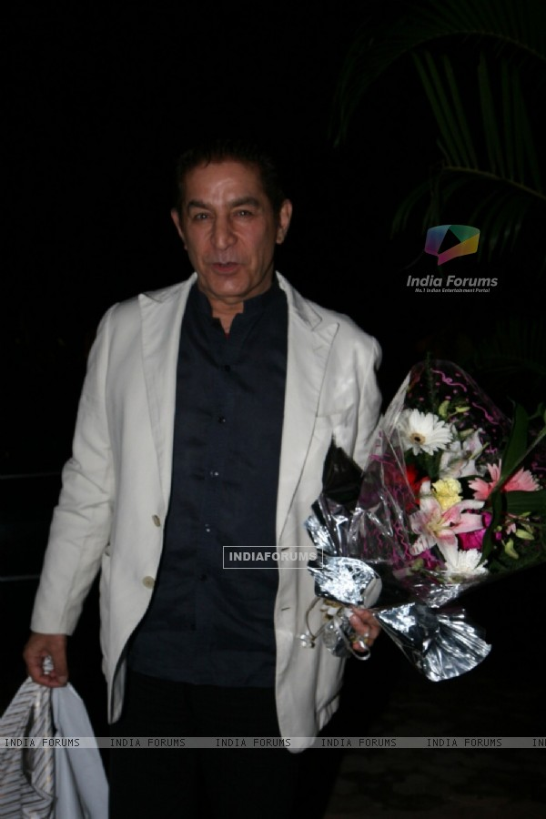 Dalip Tahil at Satish Reddy's daughter Birthday Party at Marimba Lounge in Andheri, Mumbai