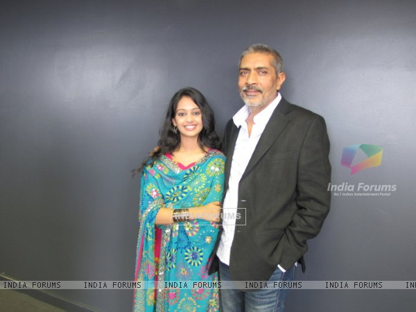 Mugdha with Mr. Prakash Jha at the Indian Film Festival in Dublin