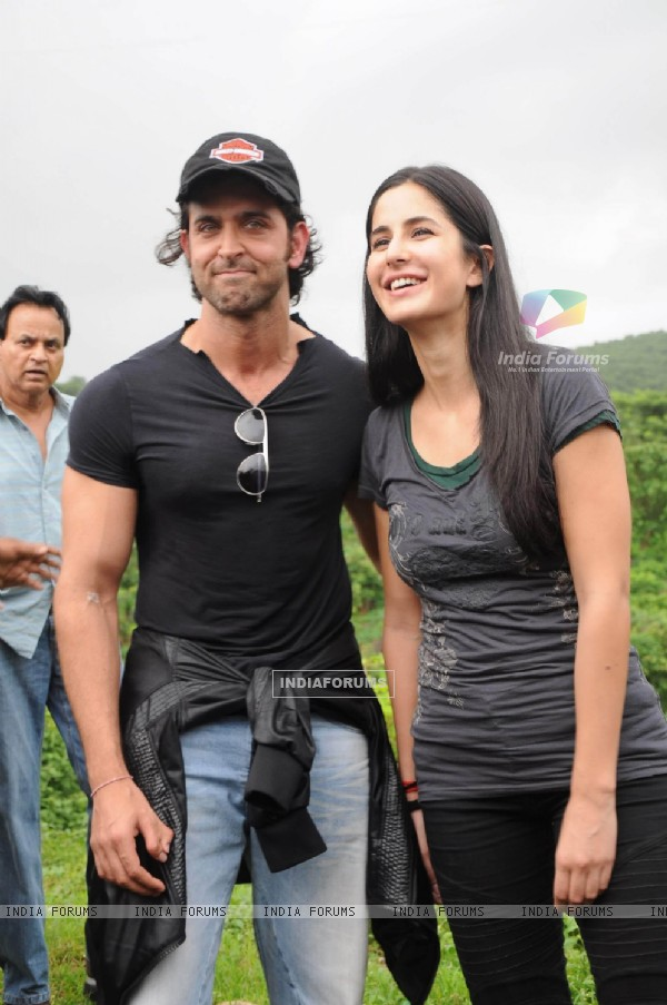 Katrina Kaif takes Hrithik for a ZNMD Bike Ride