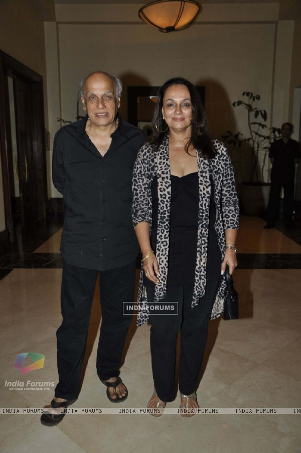 Mahesh Bhatt at Murder 2 success bash at Enigma, Mumbai
