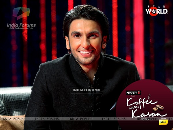 Ranveer Singh on Koffee with Karan