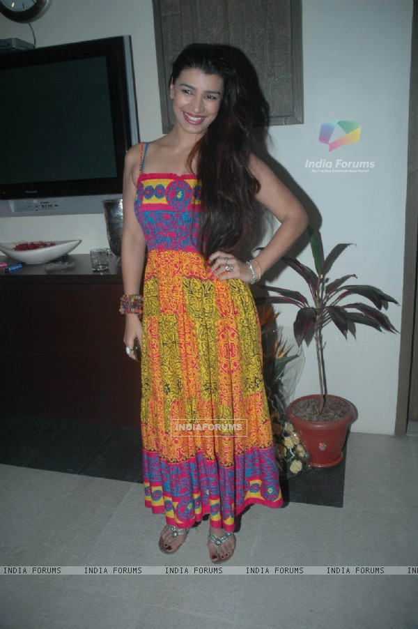 Mink Brar at Rahul Mahajan's Birthday Bash
