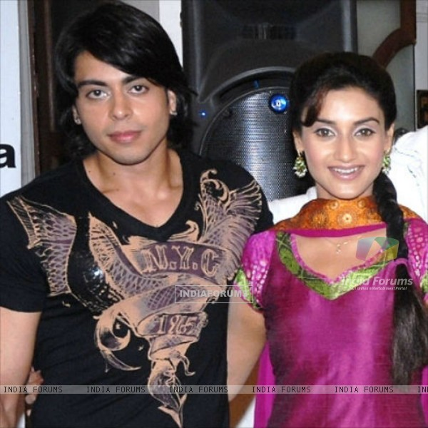 Rati Pandey and Jas Karan Singh of Miley Jab Hum Tum....