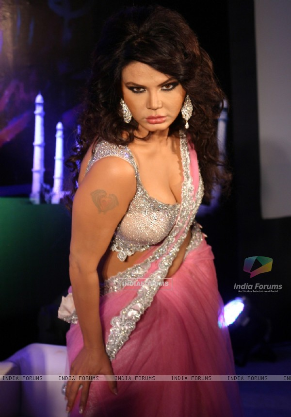 Rakhi Sawant at the launch of TV serial 'Gajab Desh Ki Ajab Kahaaniyaan', in New Delhi