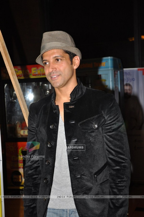 Farhan Akhtar at premiere of movie 'Bubble Gum'