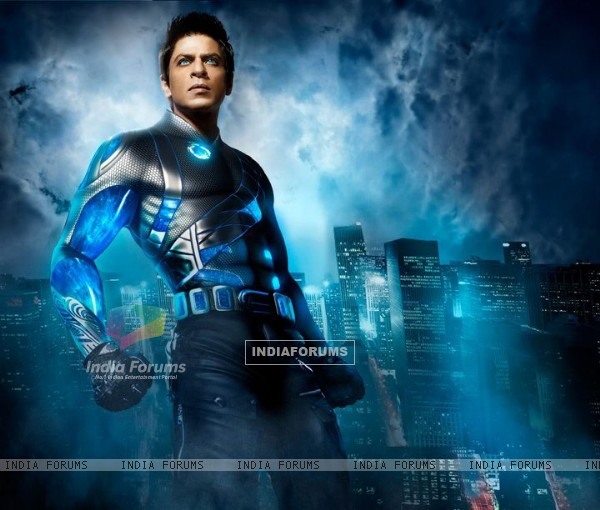 Shah Rukh look in Ra.One (150544)