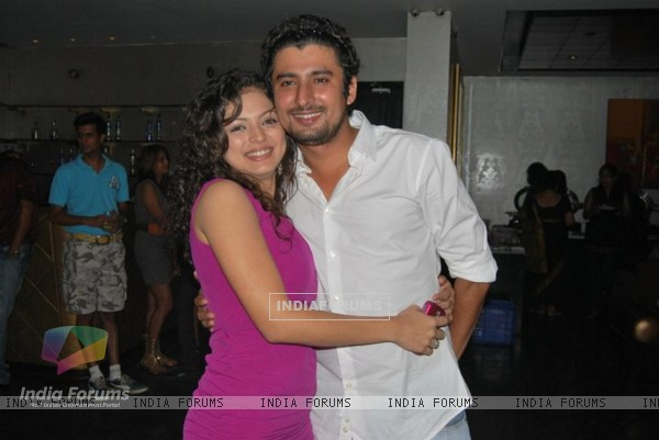 Drashti Dhami with director Nissar Parvez