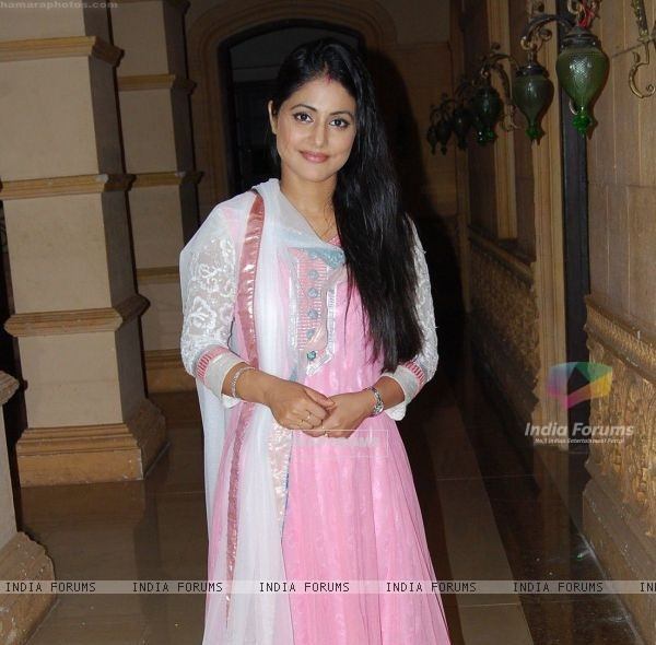 Hina Khan in CCBM fare well party