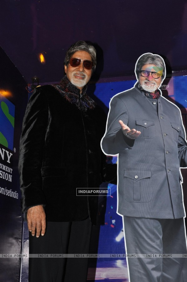 Amitabh Bachchan at press conference to announce Sony TV's new reality show Kaun Banega Crorepati Season5, in Mumbai