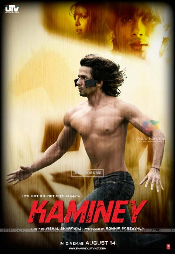 Kaminey poster introducing Shahid and Priyanka (15339)