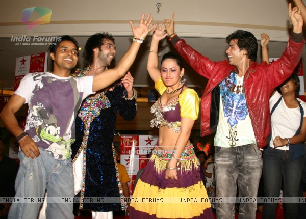 A promotional event for the Star Plus's show ''Just Dance