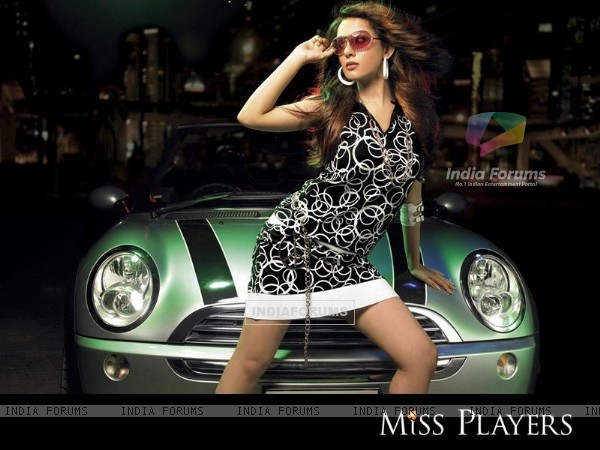 Amrita Rao on Miss Players 1