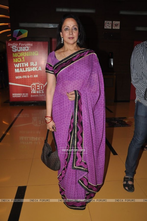 Hema unveil Tell Me O Khuda look at Cinemax, Mumbai. .