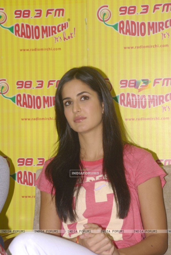 Katrina Promote MBKD at Radio Mirchi. .