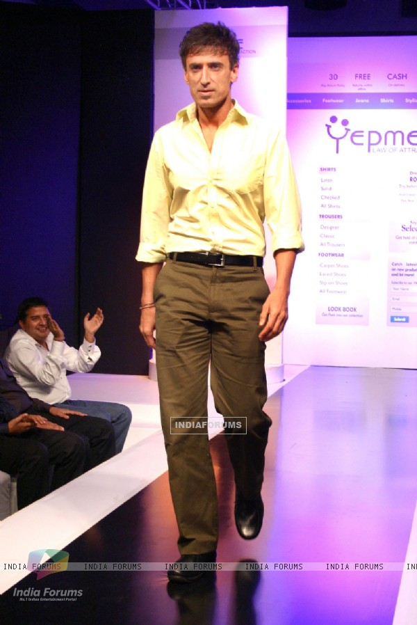 Yepme India's frist online fashion brand showcased its private label men's apparel,footwear and accessories collection, in New Delhi on Friday 12 August 2011. .