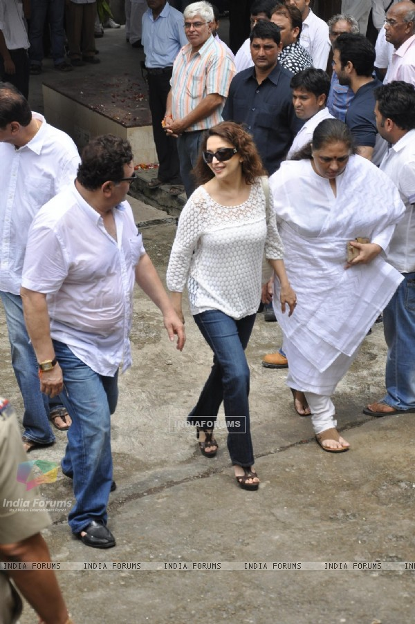 Madhuri Dixit and Rishi Kapoor pays tribute to Shammi Kapoor