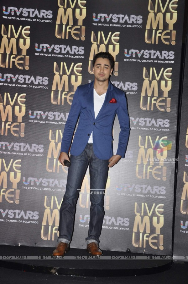 Imran Khan at UTV Starz promotional event, JW Marriott. .
