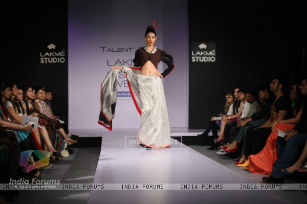 Talent Box Show at Lakme Fashion Week 2011 Day 1