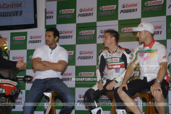 John Abraham at Castrol promotional event at Tote