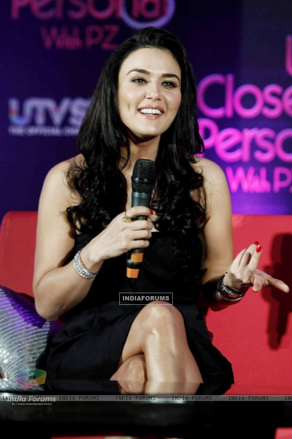 Preity Zinta at the launch of UTV Stars new show, Westin in Mumbai