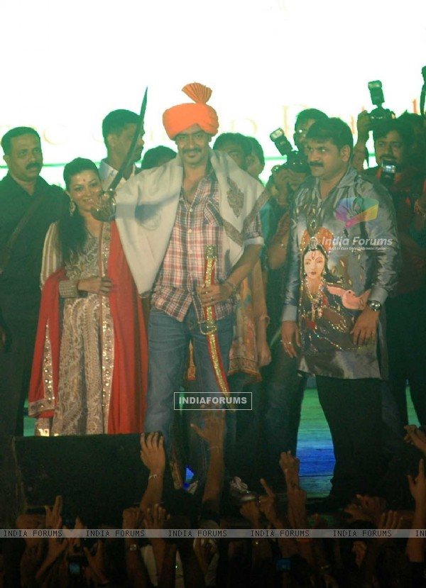 Ajay Devgn sankalp Govinda at Worli