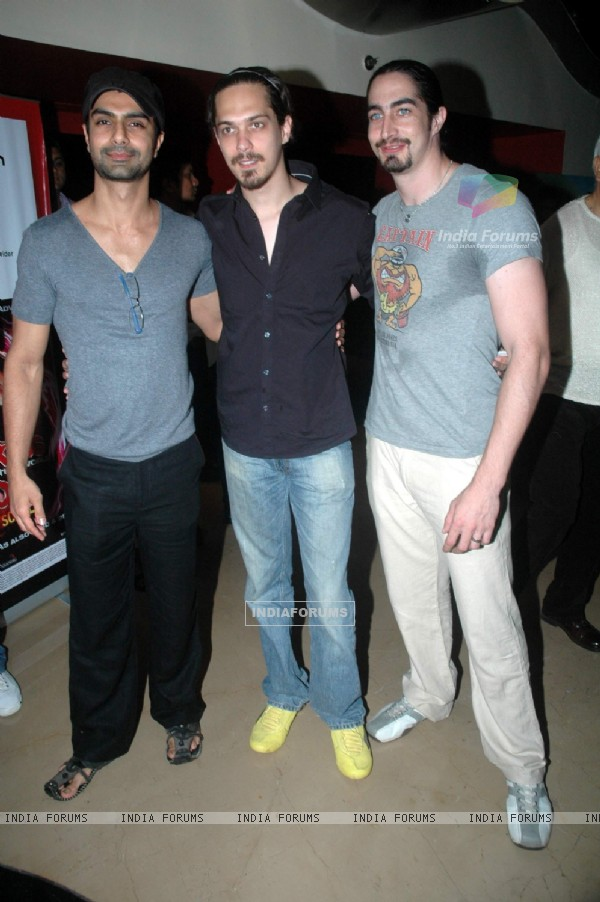Ashmit Patel at stand By film premiere at PVR Juhu