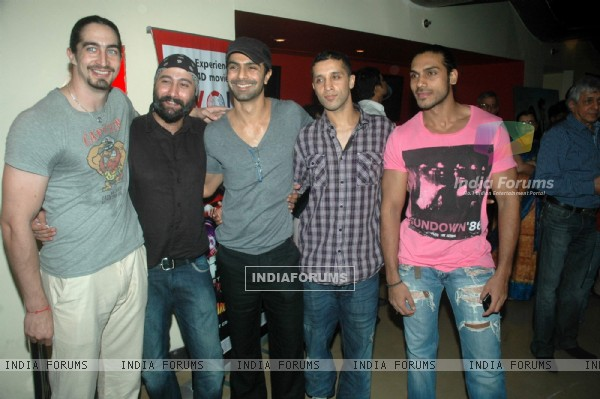 Celebs at Stand By film premiere at PVR Juhu