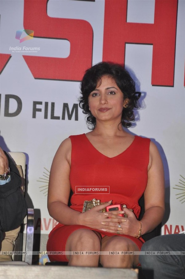 Divya Dutta at Press conference and unveiling the promo of movie 'Chargesheet'