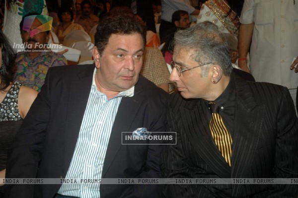 Rishi Kapoor and Aditya Raj Kapoor at 'Say Yes to Love' music launch, Sea Princess