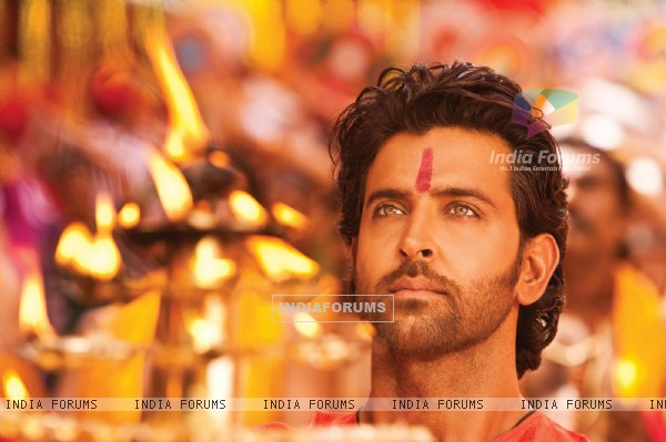Hrithik Roshan in the movie Agneepath(2012)
