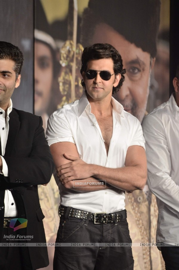 Hrithik Roshan at Agneepath Trailer Launch Event. .