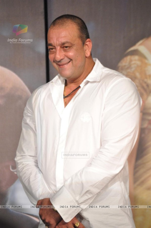 Sanjay Dutt at 'Agneepath' trailer launch event at JW.Mariott