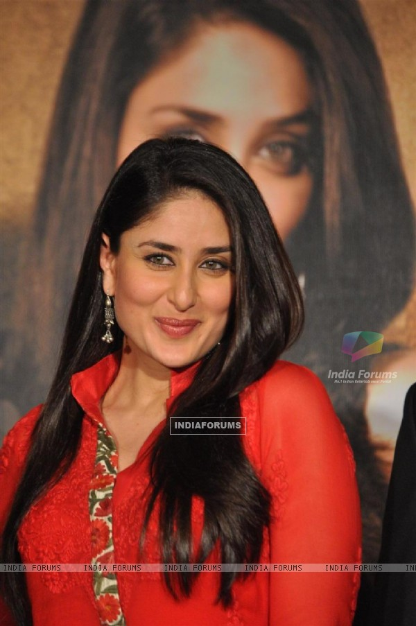 Kareena Kapoor during the promotion of film 'Bodyguard'